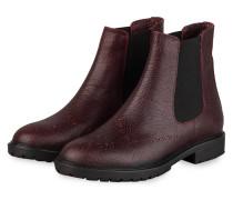 Chelsea-Boots - DUNKELROT/ SCHWARZ