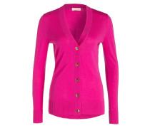 Strickjacke - pink