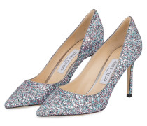 Pumps ROMY 85 - SILBER/ ROSA METALLIC