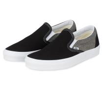 Slip-on-Sneaker CLASSIC - SCHWARZ/ GRAU