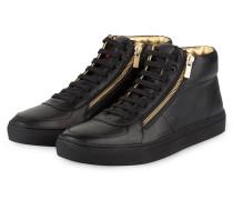 Hightop-Sneaker FUTURISM - schwarz