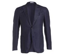 Sakko aus Cashmere Slim-Fit - blau