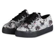 Plateau-Sneaker 2730 VELVETSHINY - GRAU