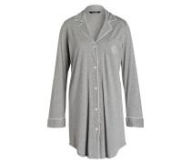 Nachthemd HAMMOND - grau meliert