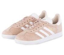 Sneaker GAZELLE - NUDE/ WEISS