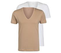 2er-Pack V-Shirts DRY COTTON FUNCTIONAL