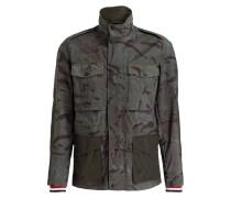 Fieldjacket - grün / braun / khaki