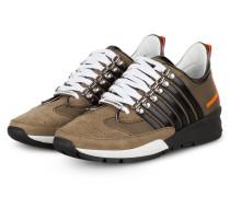 Sneaker 251 - KHAKI/ SCHWARZ/ ORANGE