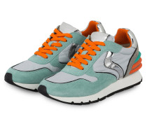Sneaker JULIA POWER - MINT/ SILBER/ ORANGE