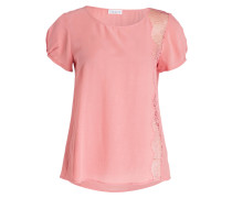 T-Shirt BENTO mit Spitzeneinsatz