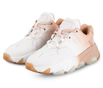 Plateau-Sneaker EXTASY - WEISS/ NUDE
