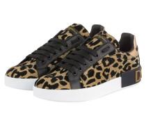 Sneaker PORTOFINO - GOLD/ SCHWARZ