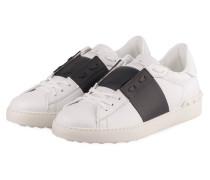 Sneaker OPEN - WEISS/ GRAU