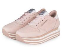 Plateau-Sneaker NOVA - NUDE