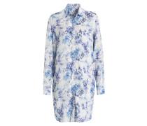 Blusenkleid ALMA - weiss/ blau
