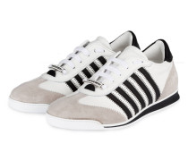 Sneaker NEW RUNNERS - WEISS/ SCHWARZ/ GRAU
