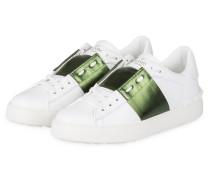 Sneaker OPEN - WEISS/ GRÜN