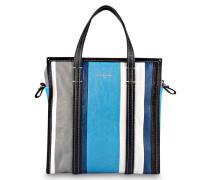 Shopper BAZAR SMALL - ecru/ blau/ grau