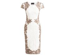 Kleid CORNELIA TAPEWORK - offwhite/ braun