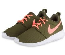 Sneaker ROSHE ONE - oliv/ koralle
