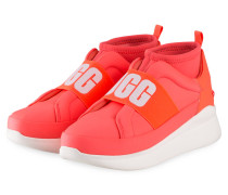 Hightop-Sneaker NEUTRA NEON - KORALLE