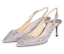 Slingpumps ERIN 60 - PLATINUM MIX
