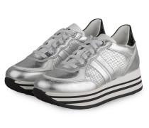Plateau-Sneaker NOEMI 5 - SILBER