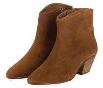 Cowboy Boots DACKEN - COGNAC