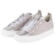 Sneaker - grau/ silber metallic