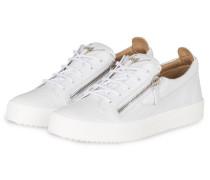 Sneaker FRANKIE CROCO - WEISS