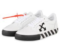 Sneaker LOW VULCANIZED - WEISS/ SCHWARZ