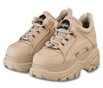Plateau-Sneaker CLASSIC KICK - CREME