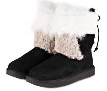 Boots CLASSIC SHORT - SCHWARZ