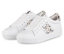 Sneaker UP - WEISS/ SILBER