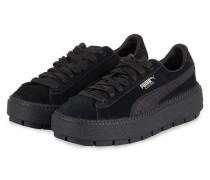 Sneaker SUEDE PLATFORM TRACE ANIMAL