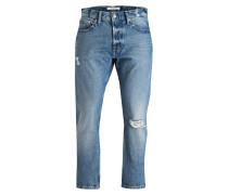 Destroyed Jeans Tapered-Fit