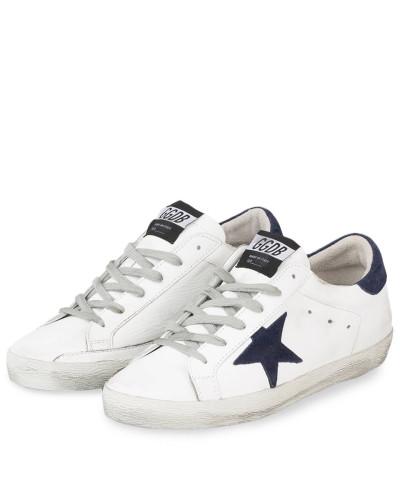 Sneaker SUPERSTAR - WEISS/ DUNKELBLAU
