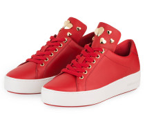 Plateau-Sneaker MINDY - bright red