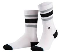 Socken BOYD 4 - weiss/ schwarz