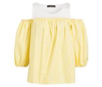 Bluse CANASTA - gelb/ weiss