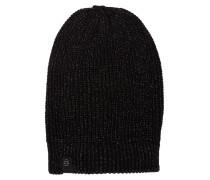 Mütze mit Metallic-Fasern