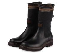 Boots - SCHWARZ/ DUNKELGRAU