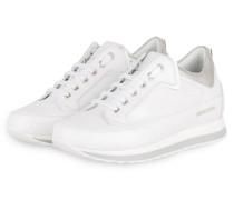 Sneaker ADEL - WEISS/ SILBER