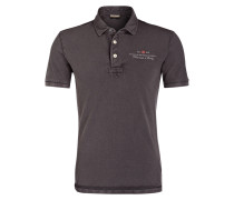 Piqué-Poloshirt ELBAS - dunkelgrau