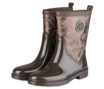 26a99218ce0133 Gummistiefel - TAUPE. Tommy Hilfiger