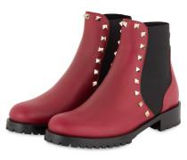 Chelsea-Boots ROCKSTUD - RUBINO