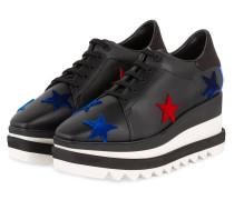 Plateau-Sneaker ELYSE - SCHWARZ