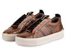 Plateau-Sneaker MEGA - BRAUN