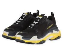 Sneaker TRIPLE S - SCHWARZ/ GELB