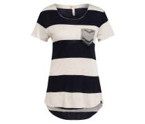 T-Shirt JANA mit Perlen- und Schmucksteinbesatz
